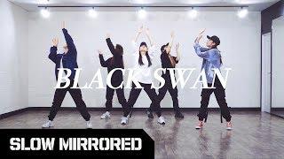 [SLOW] 방탄소년단 BTS - 'Black Swan'   안무 배우기 느리게 거울모드 SLOW MIRRO…