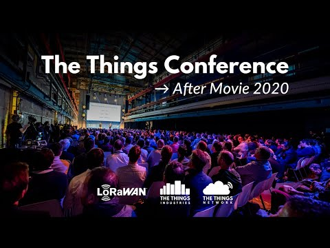 The Things Conference 2020 After Movie