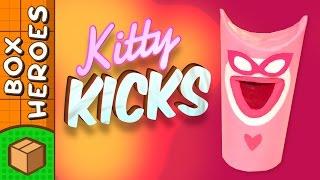 Kitty Kicks - DIY Paper Roll Crafts | Box Heroes on Box Yourself