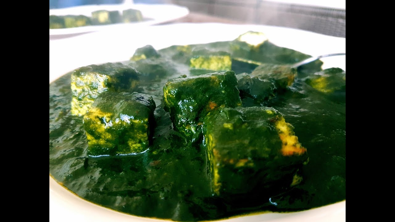 Keto Recipes I Best Low Carb Palak Paneer I Cottage Cheese