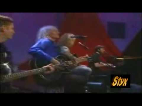 """Styx, """"Come Sail Away"""" Unplugged"""