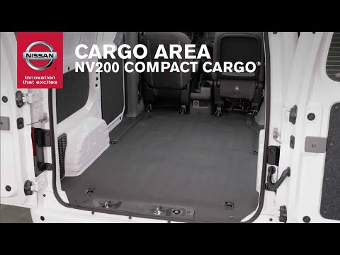 2015 Nissan NV200 Compact Cargo Van – Cargo Area - YouTube
