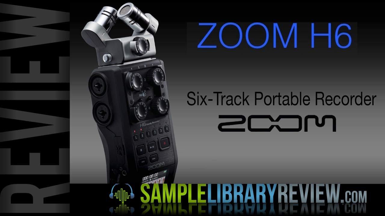 Review Zoom H6 Multi-Track Portable Recorder Studio Mics Compared