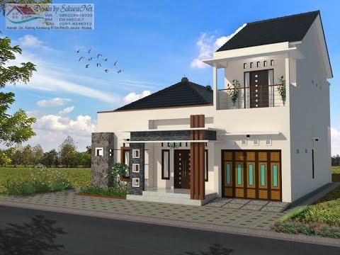rumah minimalis lantai 2_modern house (12x12) - youtube