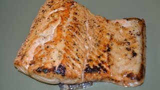 salmon frito en mantequilla