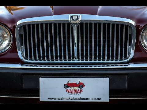 1985 Jaguar Sovereign - Waimak Classic Cars - New Zealand