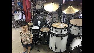 Zael Ke Toko Musik Pilih Drum 😍| Cobain Ayam Gepuk Pak Gembus 🌶super pedas