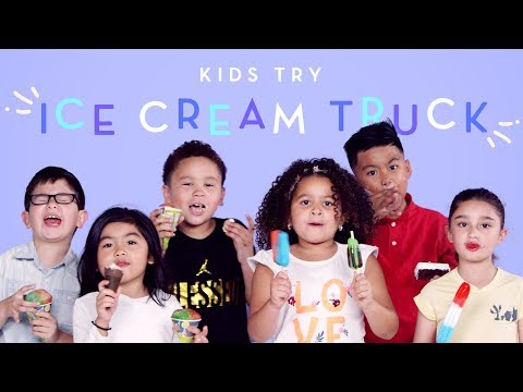 Kids Get Surprised with an Ice Cream Truck | Kids Try | HiHo Kids