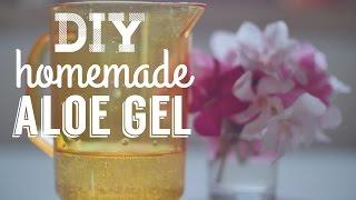 DIY: Homemade Aloe Vera Gel - Gel di aloe faidate Thumbnail