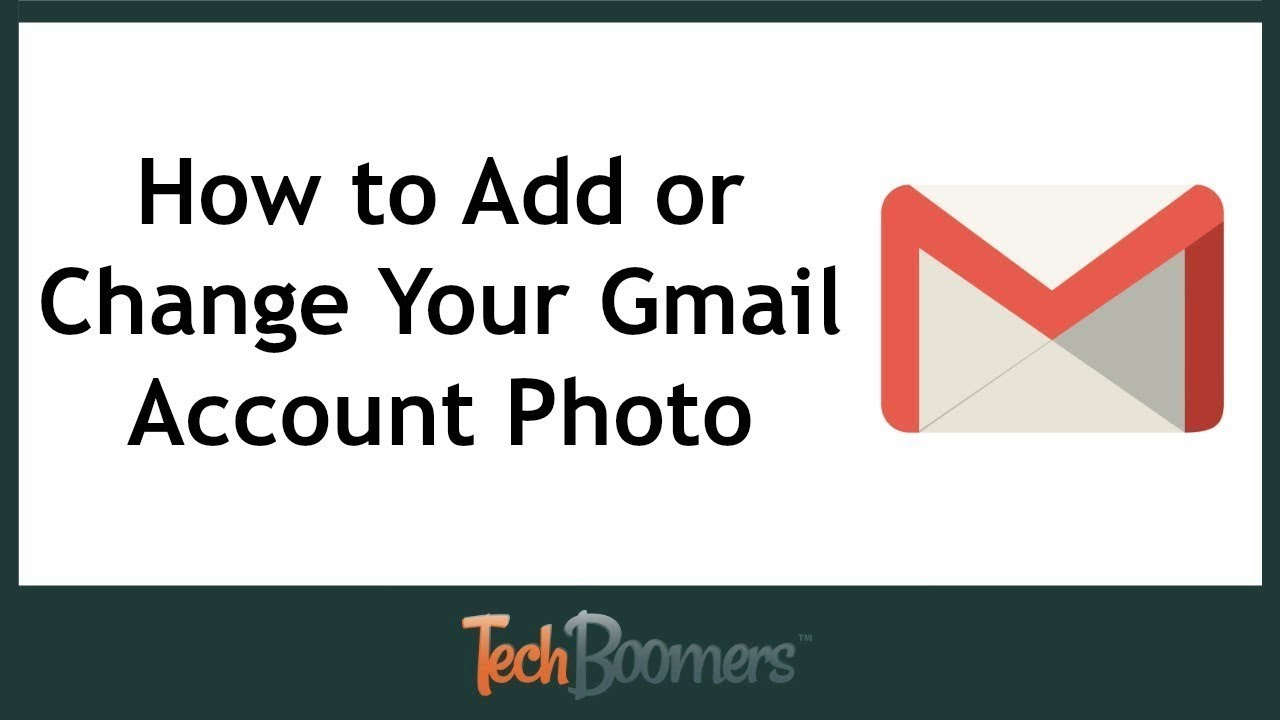 How To Change Your Profile Picture On Gmail!! 2017