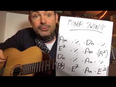 'Minor Swing' Chords - 6 Ways To Play (LIVE - replay here) - Gypsy Jazz Guitar Lesson