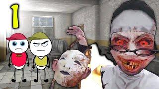 EVIL NUN HORROR GAME Part 1 | Horror Story (ANIMATED IN HINDI) Make Horror Of