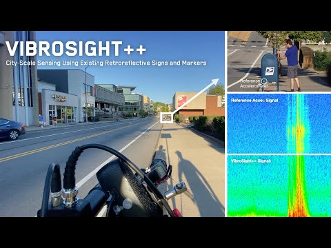 Vibrosight++: City-Scale Sensing Using Existing Retroreflective Signs and Markers