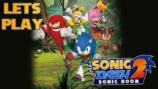 Bugs piolas a toda velocidad: Sonic Dash 2 Sonic Boom