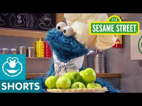 Sesame Street: Thanksgiving Apple Pie   Cookie Monster's Foodie Truck