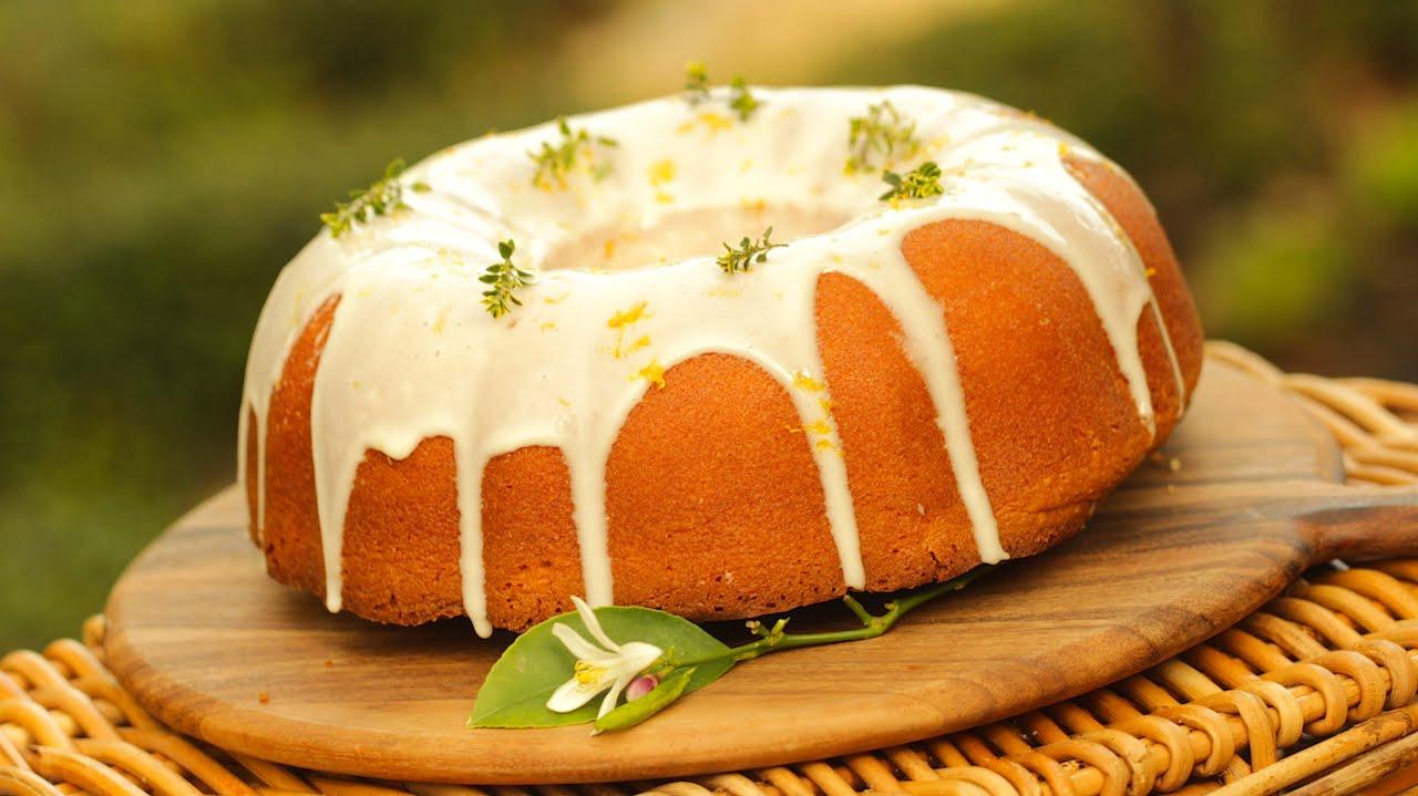 Beth S Homemade Lemon Pound Cake Recipe In Beth S Garden Youtube