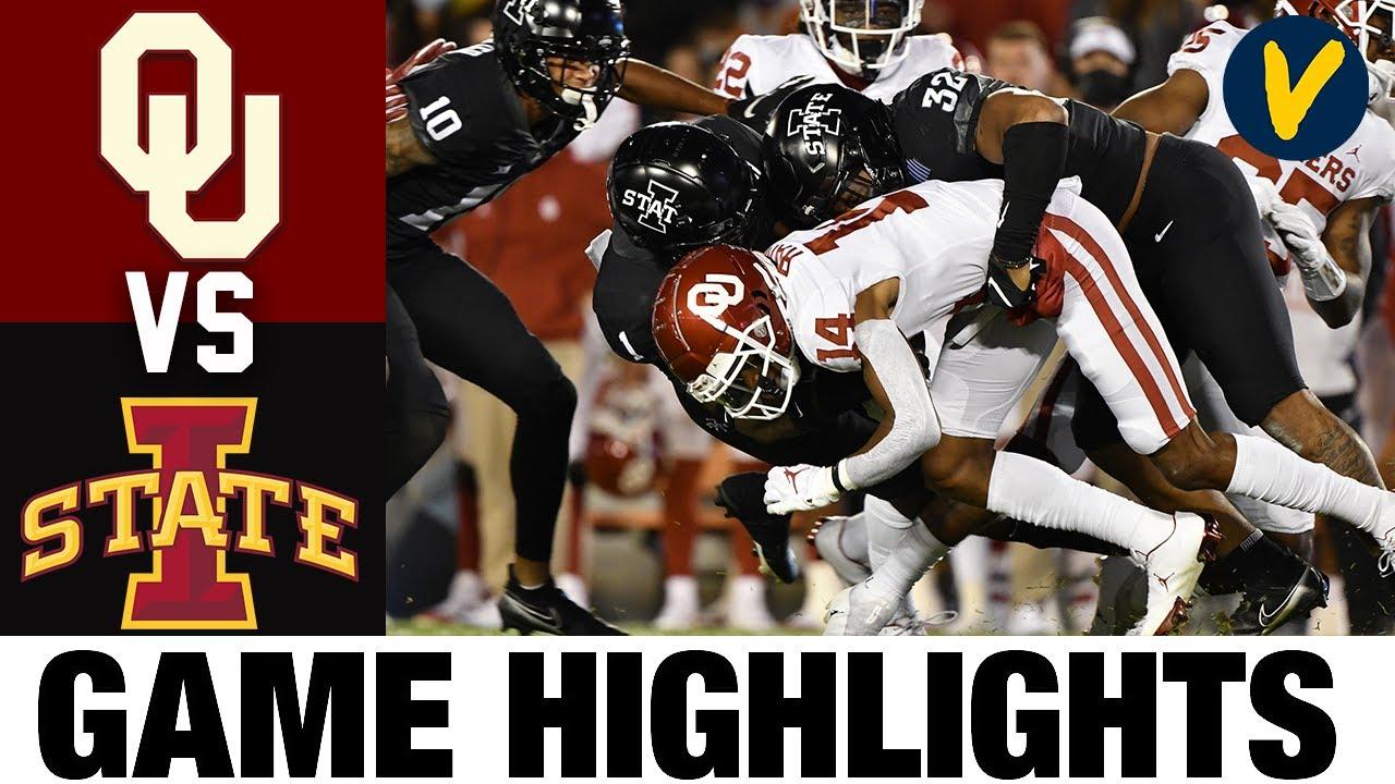 18 Oklahoma Vs Iowa State Highlights Week 5 College Football Highlights 2020 College Football Youtube