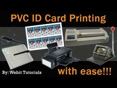 PVC ID Card Printing (Short & Complete Guide)