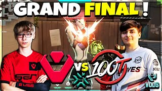 GRAND FINAL! SENTINELS VS 100T  | VCT 3 NA Challengers Playoffs AUG 15 2021