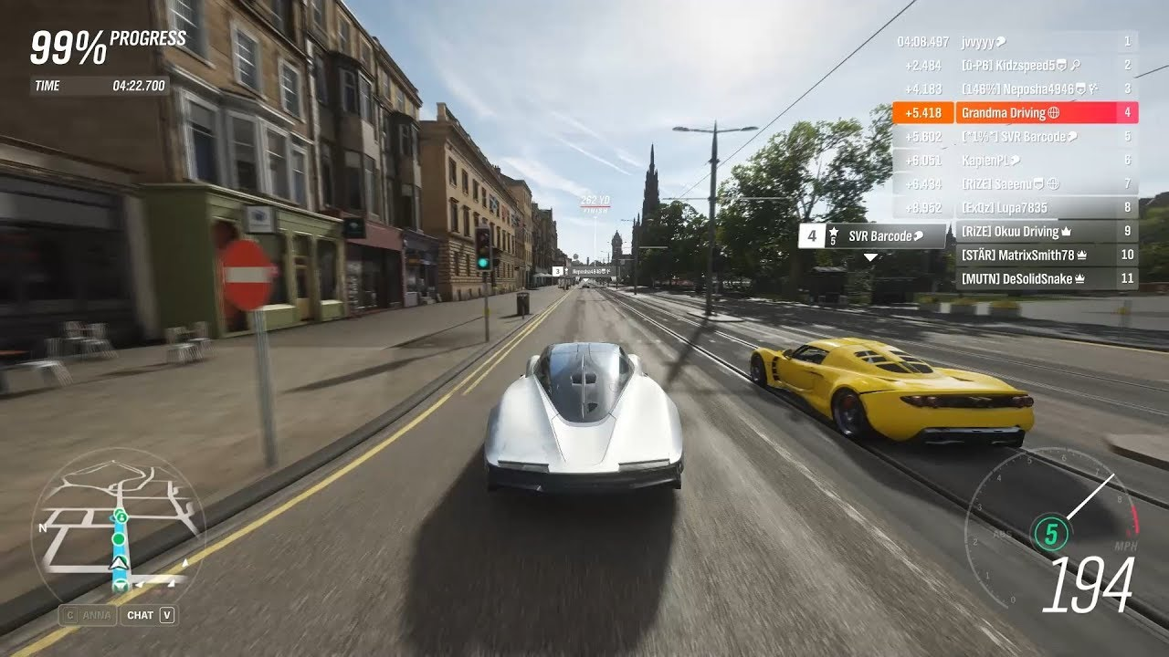 Forza Horizon 4 - Mclaren Speedtail is only Good On Straights in S2-Class