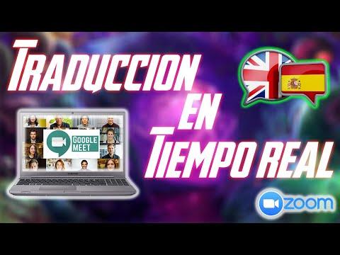 🔥 Traduce tus clases de ingles en tiempo real |  Incluso Traduce videos 🎙🖥✅