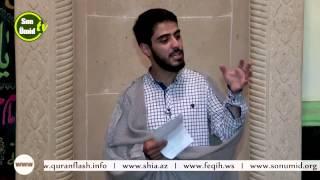 Kərbəlayi Ağadadaş _ Ramazan ayının 3-cü günü [20.06.2015]