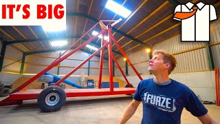 MASSIVE Trebuchet/Catapult BUILD