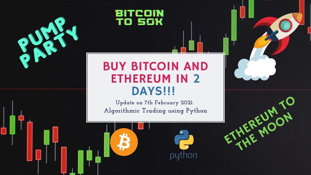 bitcoin algo trading python
