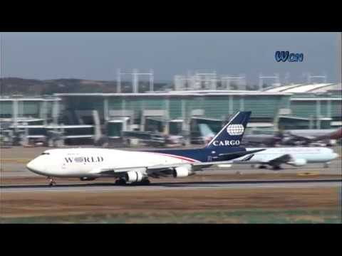 landing  인천공항 각항공사 비행기들 다양한 착륙(landing)영상모음