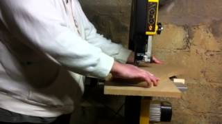 Circle Cutting Jig For Bandsaw