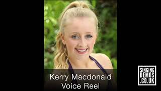 Voice Reel- Kerry Macdonald (Voiceover, Commercial)