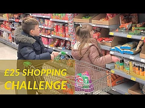 £25 SHOPPING CHALLENGE
