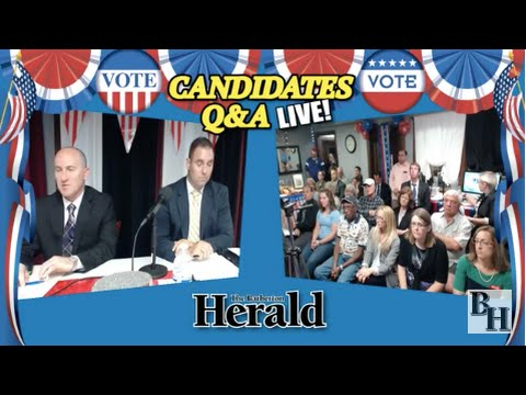 Barberton Mayor William Judge and Candidate John Lysenko LIVE August 27, 2015