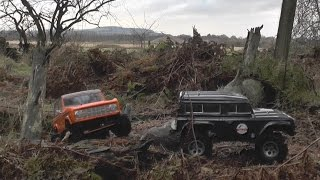 rcing around ftx outback ford bronco scale crawlers ftx technical failure slippery wet trail