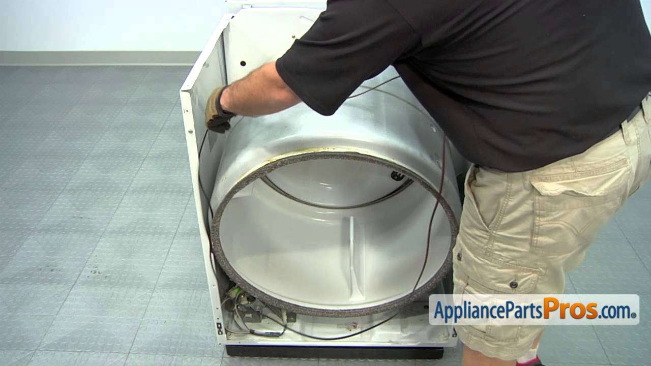 Dryer Drive Belt Part Wp8547168 How To Replace Youtube Our Whirlpool Cabrio Wed6200sw1 Is Not Working The Power