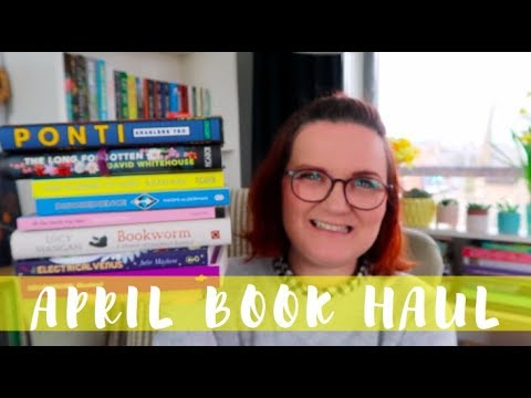 April Book Haul | Lauren and the Books
