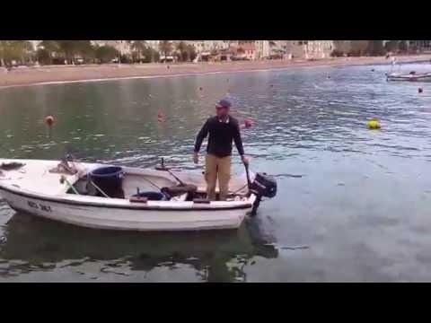 Petrovac na moru hvatanje Hobotnice
