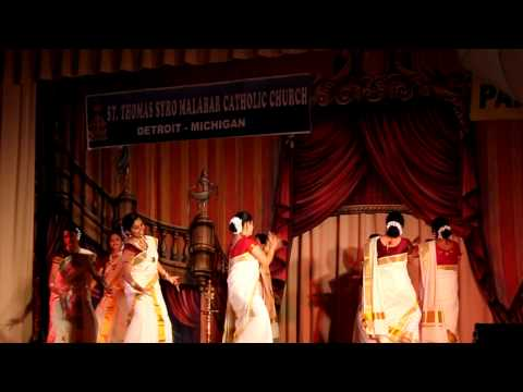 Thiruvathira - Parish Day 2010. Syro Malabar Detroit
