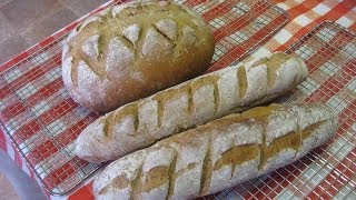 100% Whole Wheat Bread In 5 Minutes Baked On A Mak Pellet Grill