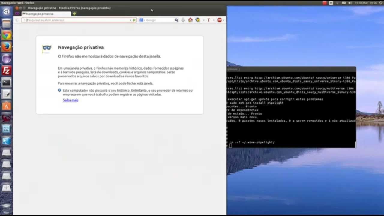 Instalar Pipelight Silverlight no Ubuntu 13 10 - Mozilla Firefox e Google  Chrome