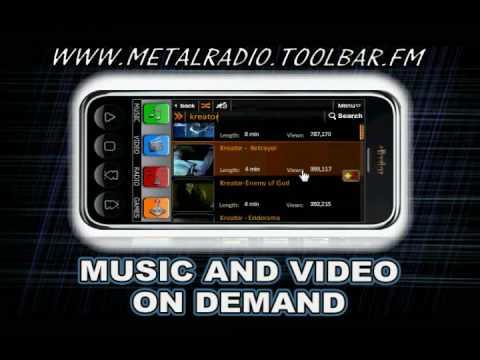 The Metal Radio Toolbar