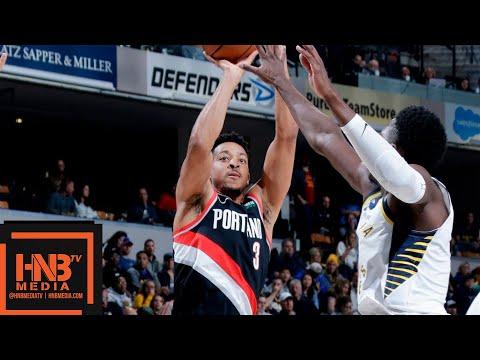 Indiana Pacers vs Portland Trail Blazers Full Game Highlights | 10.29.2018, NBA Season