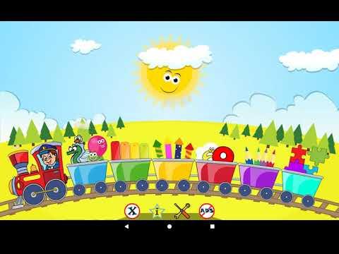 Детские игры : Пазлы, Раскраски + более - YouTube
