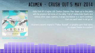 ACUMEN - Crush - Danton Eeprom and Villanova remixes - Thrill Of It 001