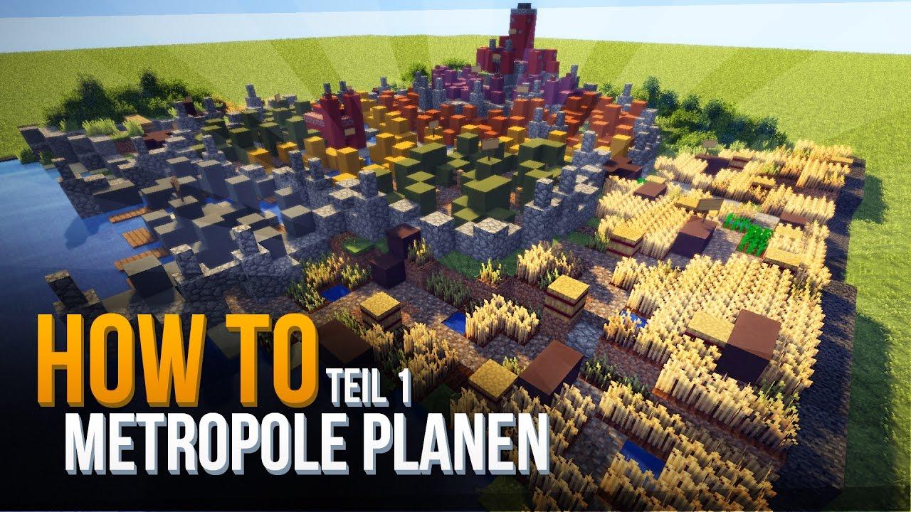 Minecraft Mittelalter Stadt Bauen KONZEPT #1   Minecraft Tutorial Deutsch