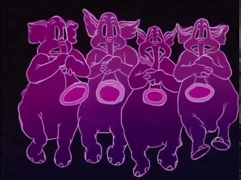 Dumbo Pink Elephants on Parade HD