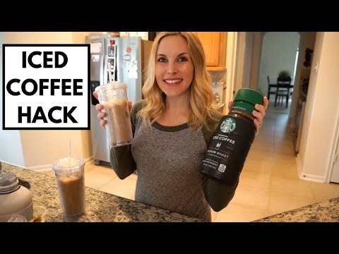HOW TO MAKE STARBUCKS ICED COFFEE AT HOME | 2 WAYS