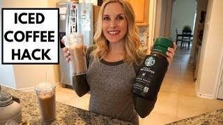 Download HOW TO MAKE STARBUCKS ICED COFFEE AT HOME | 2 WAYS Mp3 and Videos