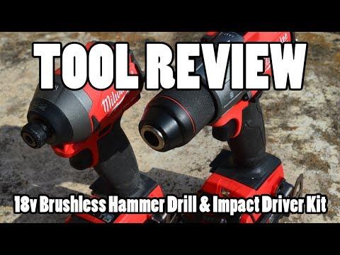 TOOL REVIEW - Milwaukee 18v Brushless Cordless Hammer-Drill & Impact Driver Combo Kit