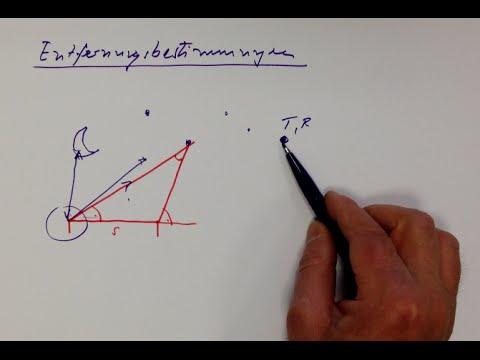 Entfernungsmessung Mit Parallaxe : Astronomie entfernungsbestimmung 1 youtube